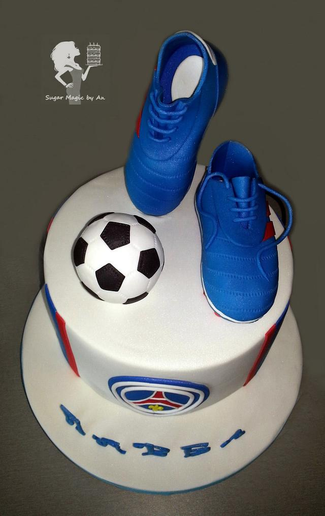 Football Psg Cakesdecor