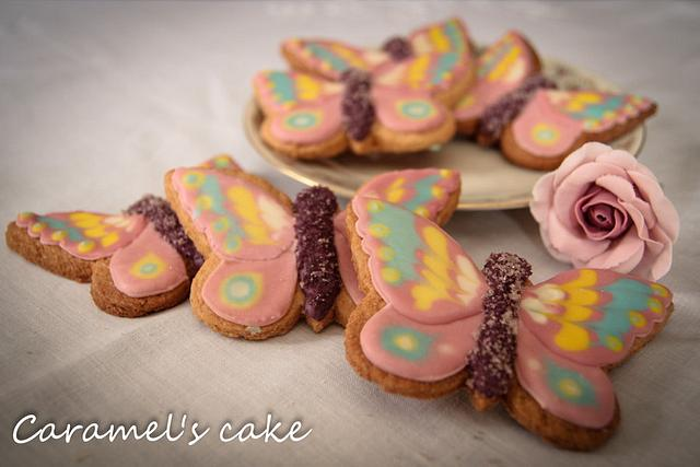 Butterfly coockies