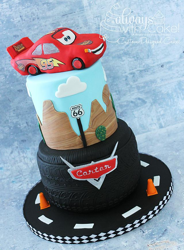 Outstanding Cars Themed Birthday Cake Cake By Alwayswithcake Cakesdecor Personalised Birthday Cards Xaembasilily Jamesorg