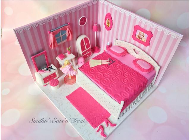 Barbie Bedroom Theme cake