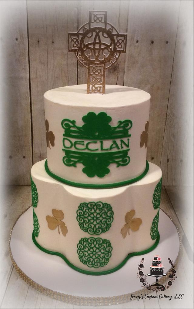 Irish Communion Cake
