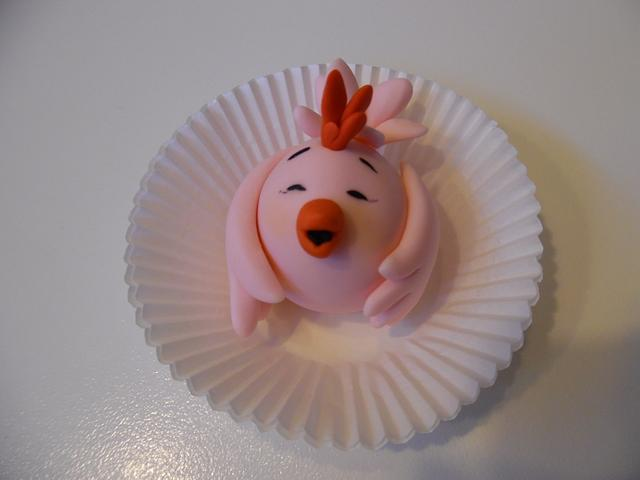 Once upon a time three little pigs... Ops! Three little chicks...