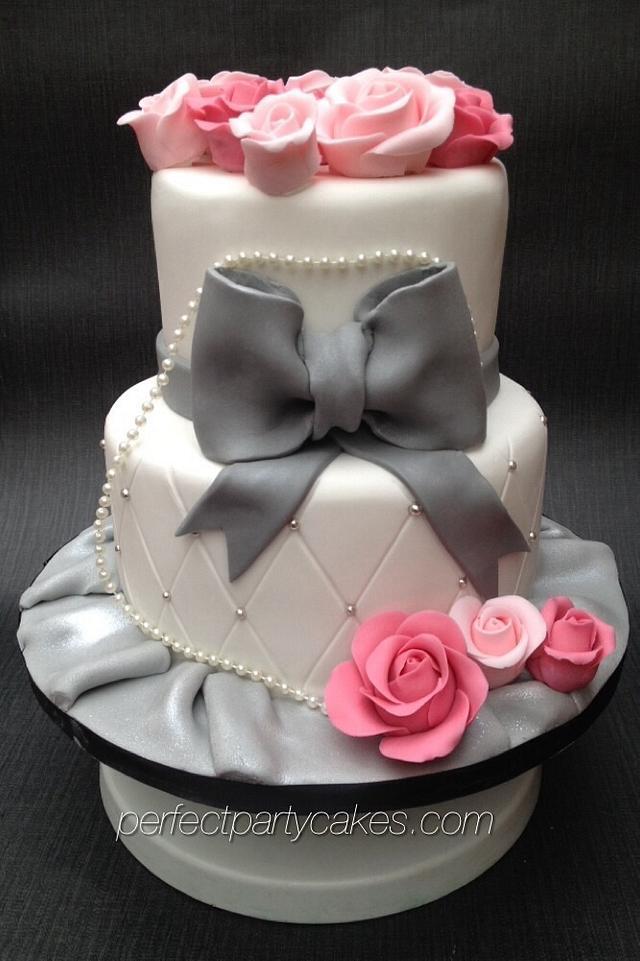 Fine Eiffel Tower Birthday Cake Cake By Perfect Party Cakes Cakesdecor Birthday Cards Printable Giouspongecafe Filternl