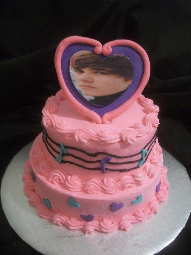 Justin Beiber Birthday Cake