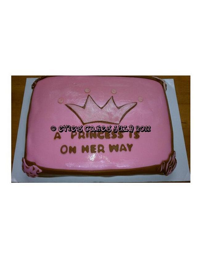 Baby Shower Princess Cake