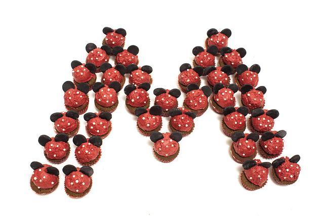 Disney Mini Cupcakes