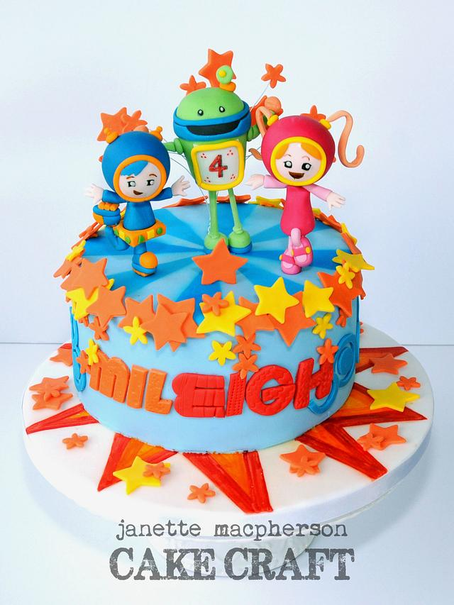 Brilliant Team Umizoomi Birthday Cake Cake By Janette Macpherson Cakesdecor Personalised Birthday Cards Arneslily Jamesorg