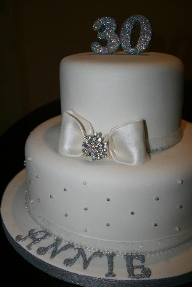 White Diamond Cake