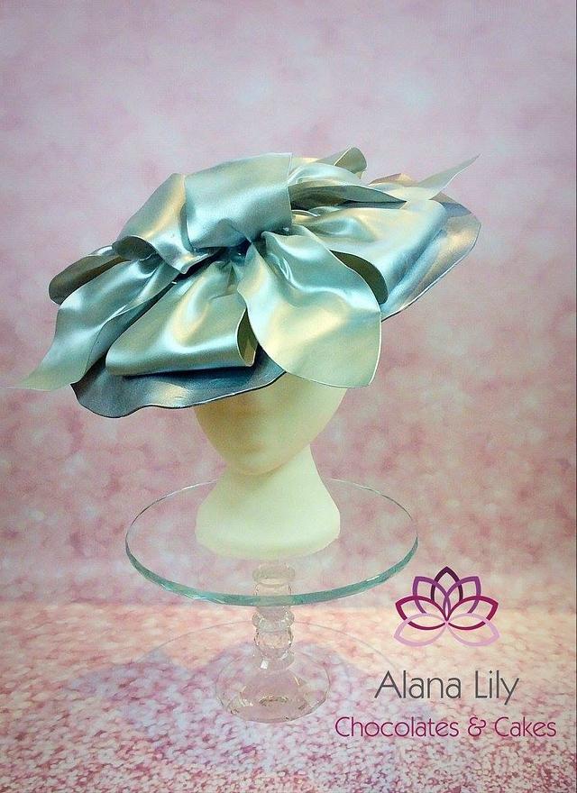 Royal Ascot Hats and Fashions 2016 - Silver