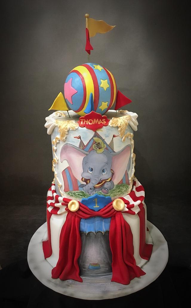 Dumbo Circus 1st Birthday