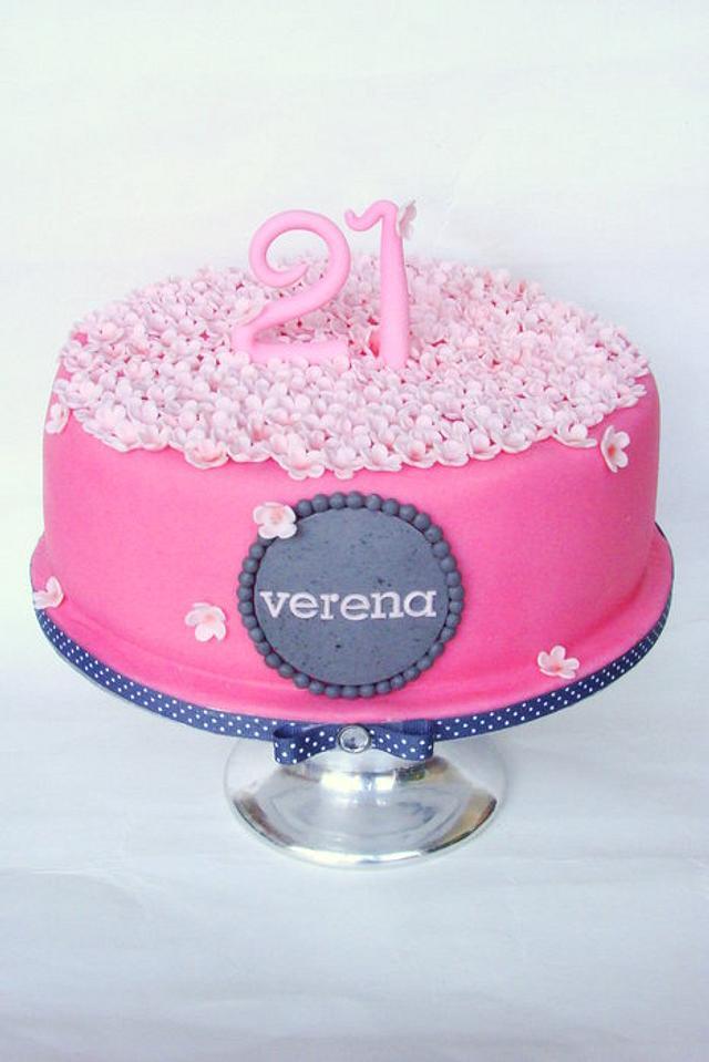 Little flower cake Part II