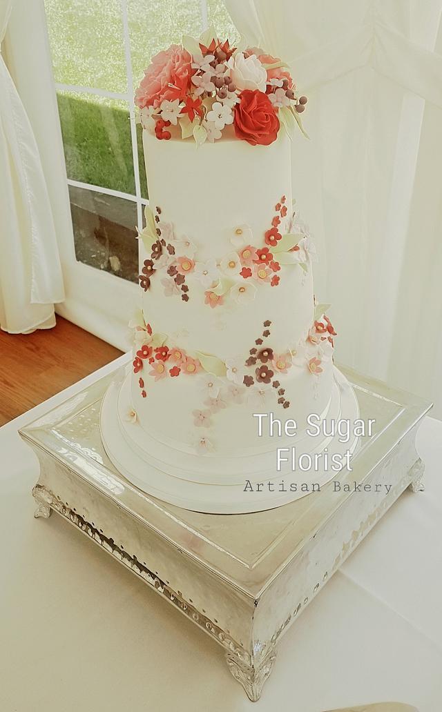 Wedding in pinks