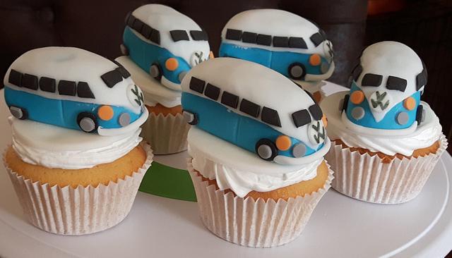 Volkswagen cupcakes.