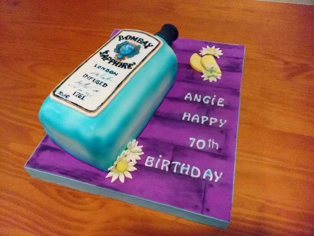 BOMBAY BOTTLE'S CAKE