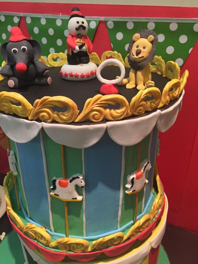 PDCA Collaboration Carnival Dessert Table