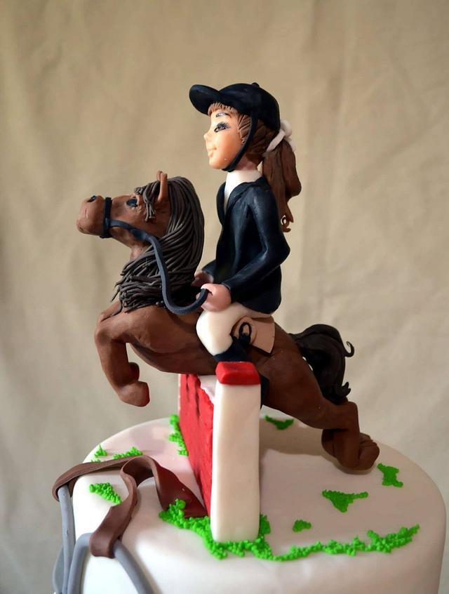 equestrian Cake
