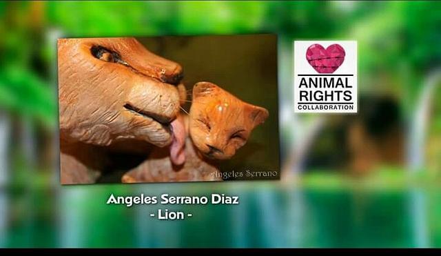 Mama leona Animal Rights Collaboration