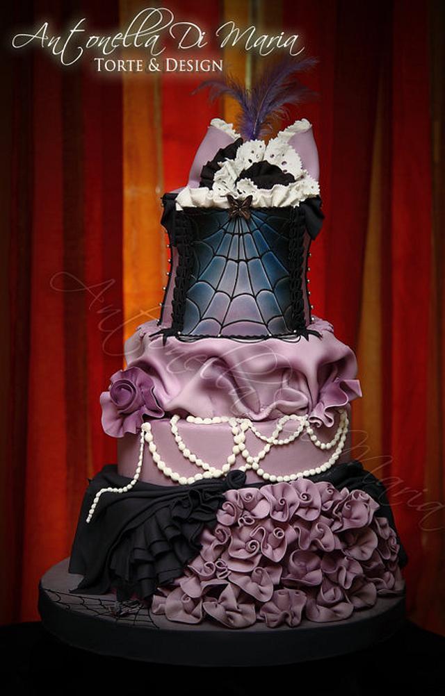 halloween cake burlesque