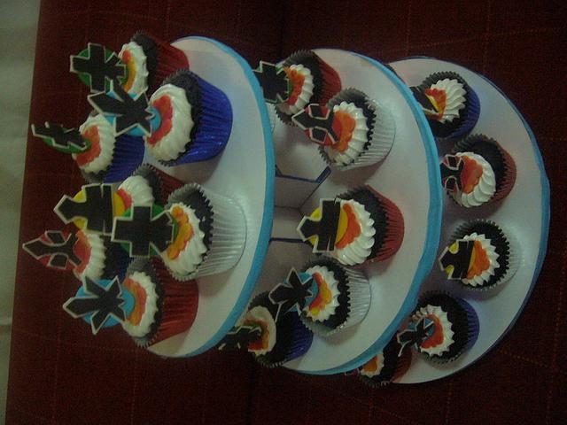 POWER RANGERS SAMURAI Cakes and cupcakes