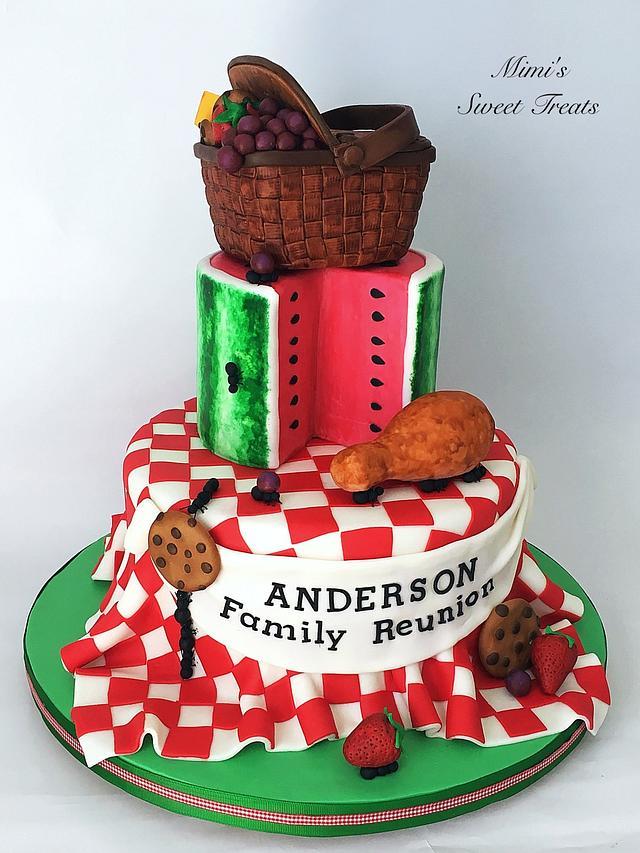 Family Reunion Picnic Cake