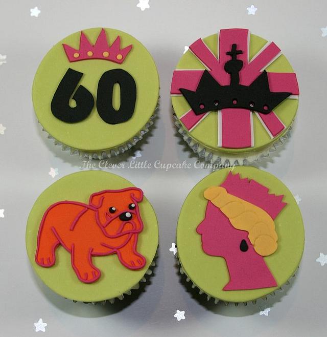 Alternative Diamond Jubilee Cupcakes