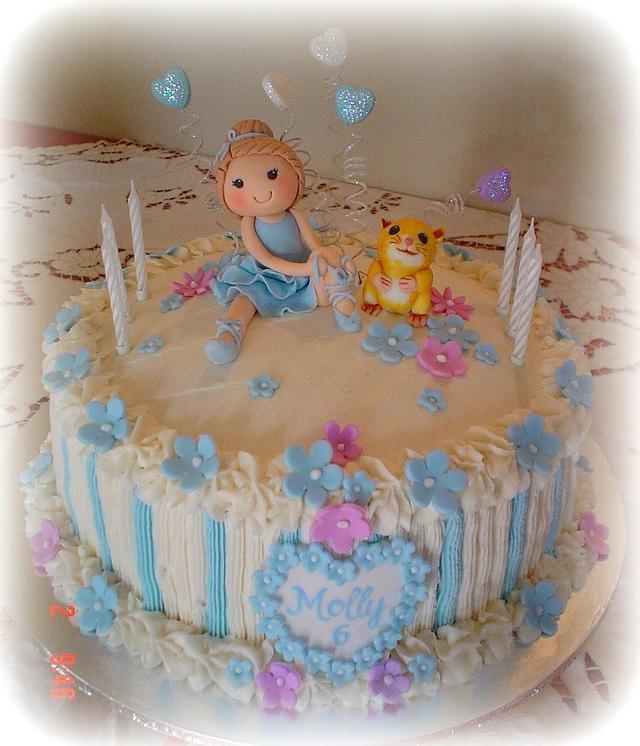 Ballerina and her Hamster Cake