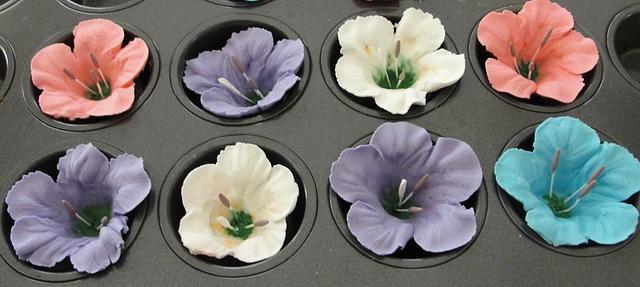 Royal Icing Petunias