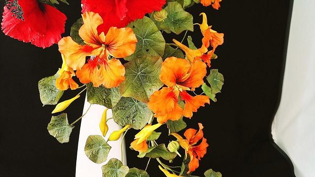 Bouquet with Zinnie