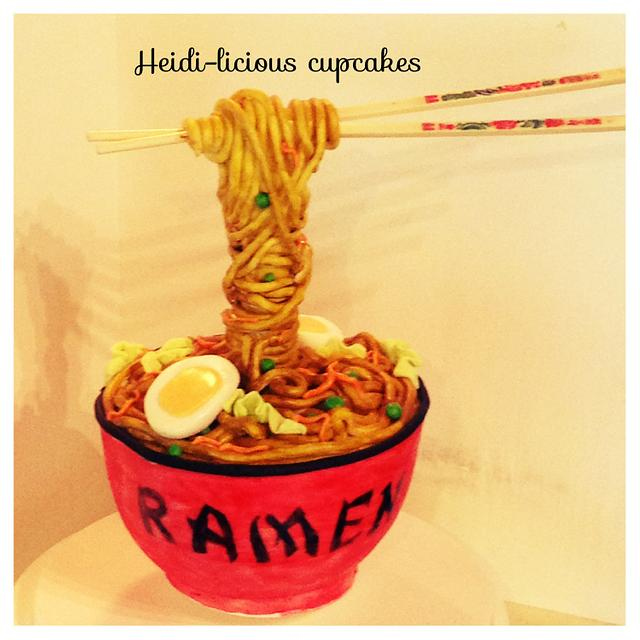 Ramen/noodle cake