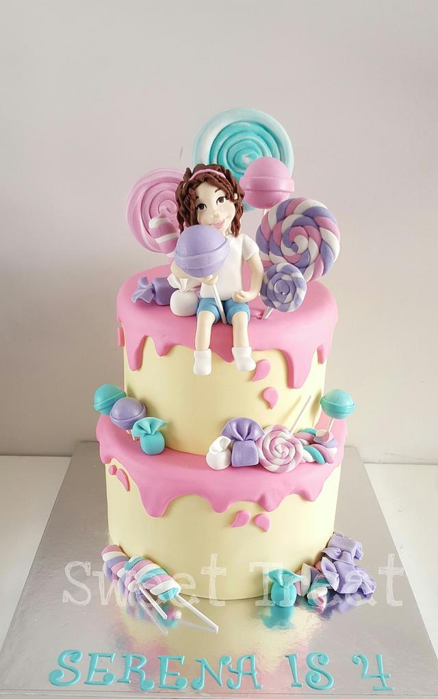 Candy girl cake