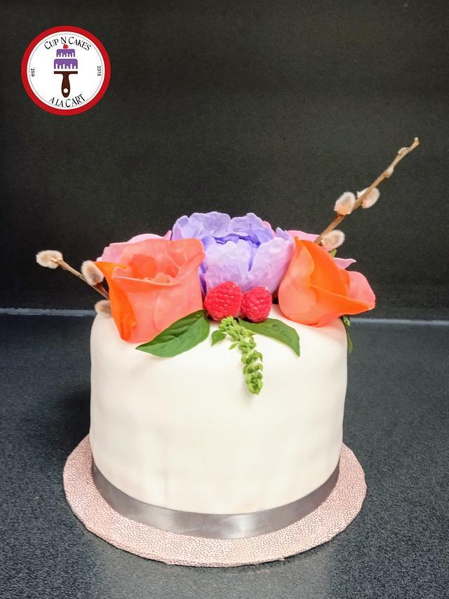 Peonies & Roses Birthday Bouquet