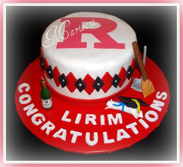 Rutger's Graduation Cake