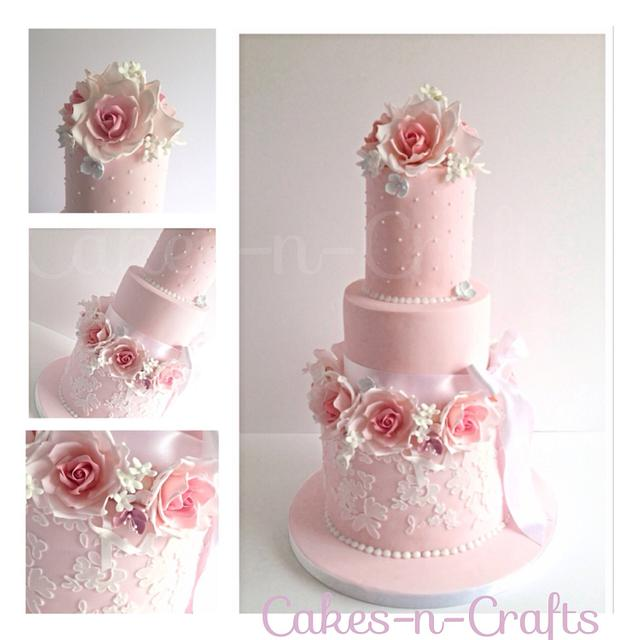 Wedding cake in a day!