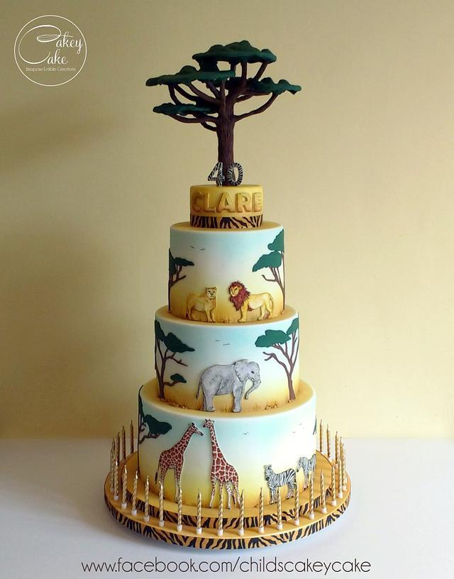 African Safari Cake