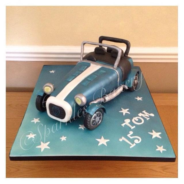 Caterham cake