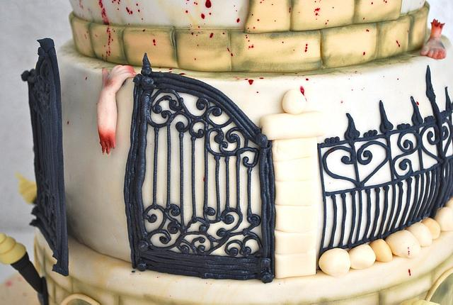 Zombie Wedding Cake ;-)