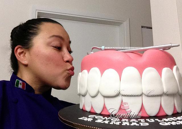 Teeth Cake!