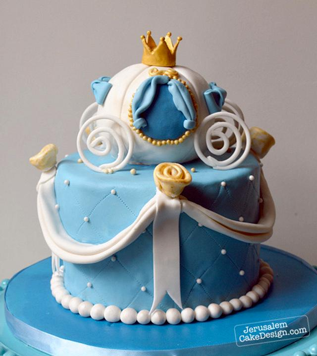 Surprising Cinderella Birthday Cake Cake By Tammy Youngerwood Cakesdecor Funny Birthday Cards Online Overcheapnameinfo