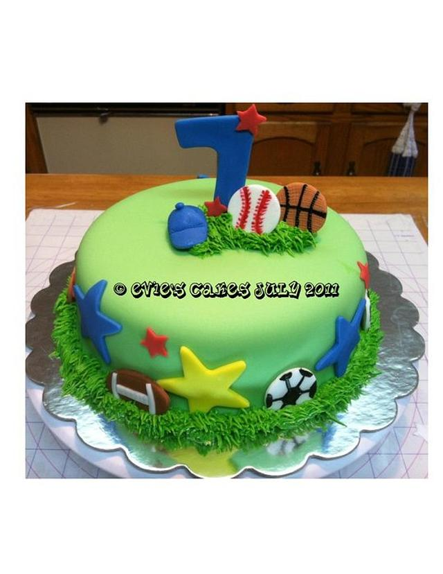 Sport Cake & Cupcakes