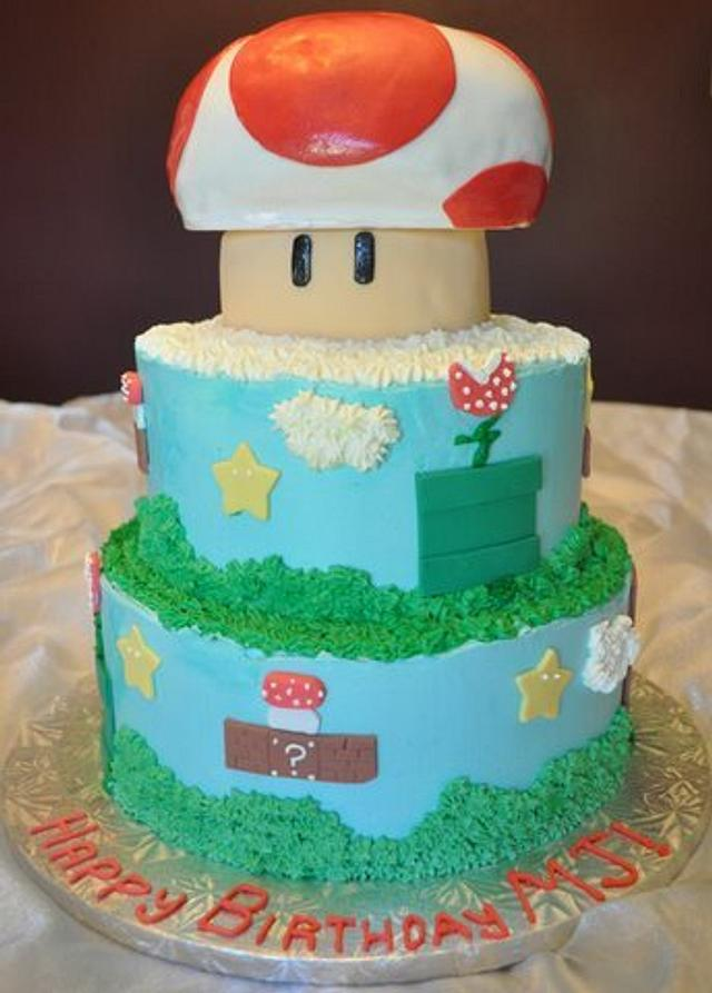 Toad cake