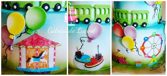 Funfair cake