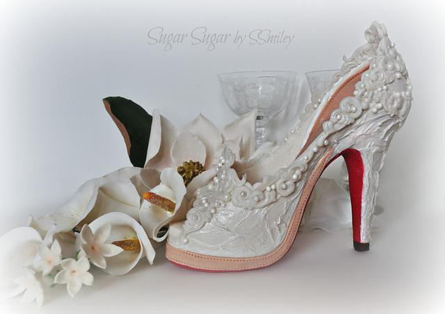 "Bridal Shoe - ""Love Is # 2"" Collaboration"