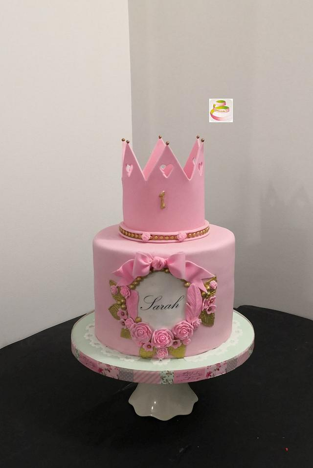 Princess Cake Cake By Ruth Gatoandcake Cakesdecor