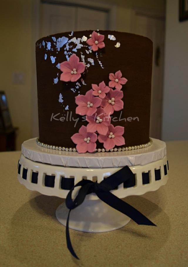 Astounding Simple Birthday Cake Cake By Kelly Stevens Cakesdecor Personalised Birthday Cards Veneteletsinfo