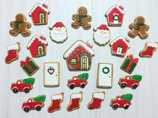 Christmas Royal Icing Cookie