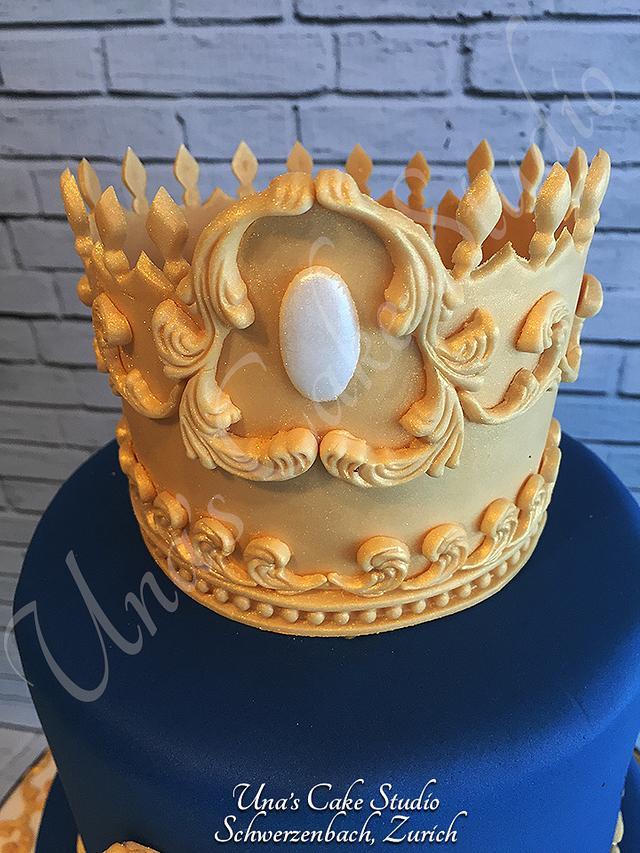Little Prince Birthday Cake