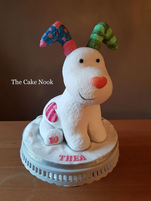 The Snow Dog Cake