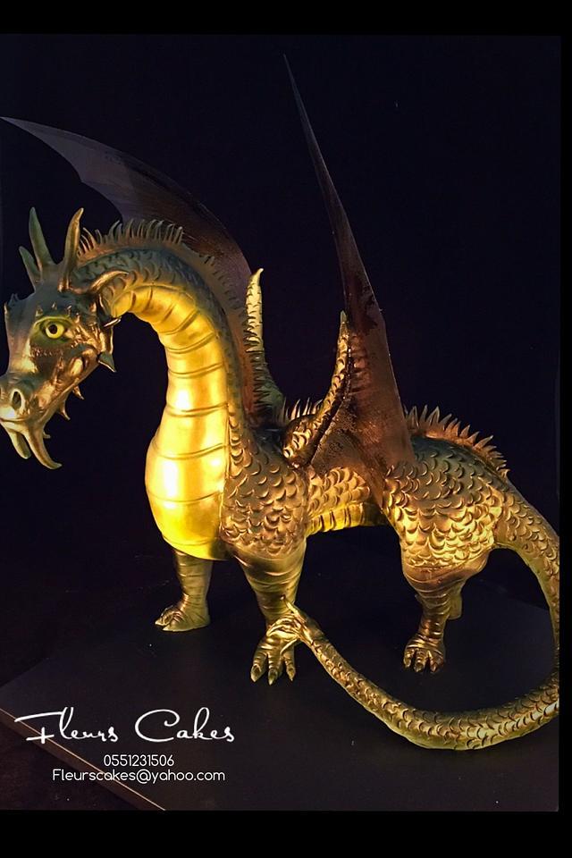 Fierce  Dragon Cake