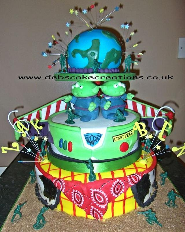 ToyStory Birthday Cake