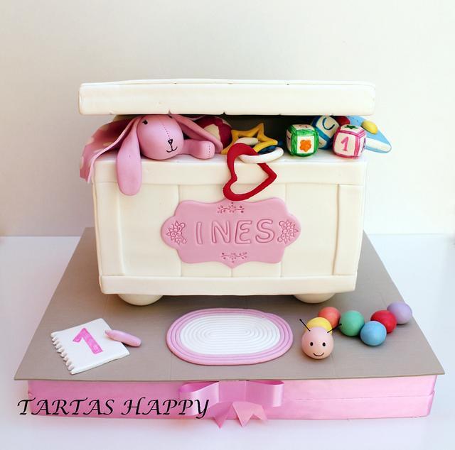 Toybox cake